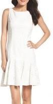 Eliza J Women's Eyelet Fit & Flare Dress