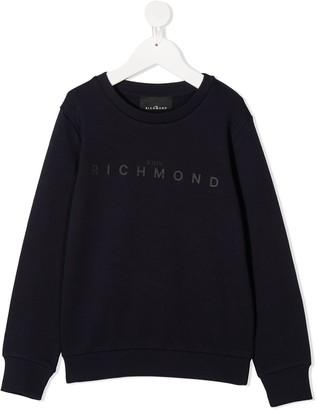 John Richmond Junior Cotton Logo Sweatshirt