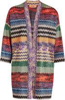 Missoni Kimono Cardigan with Metallic Thread