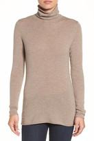 Halogen Wool & Cashmere Funnel Neck Sweater (Regular & Petite)