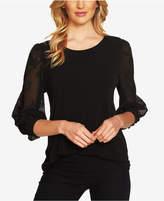 CeCe Lace-Sleeve Blouse