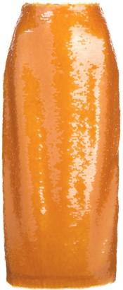 Prabal Gurung sequin pencil skirt