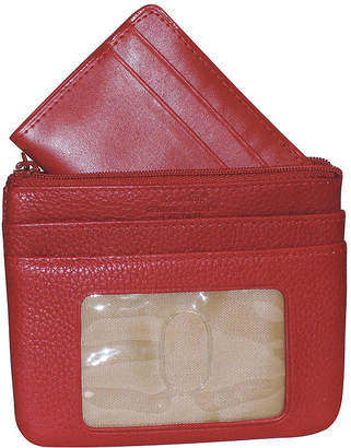 Buxton Large ID Coin Card Case