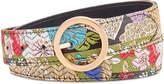 Steve Madden Reversible Print Belt