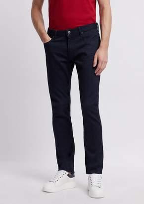 Emporio Armani Slim-Fit J06 Jeans In Stretch Cotton