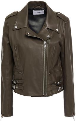 Frame Leather Biker Jacket