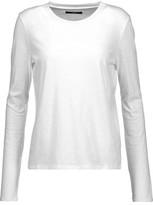 J Brand Montara Slub Cotton-Jersey Top