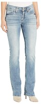 Silver Jeans Co. Elyse Mid-Rise Curvy Fit Slim Bootcut Jeans in Indigo (Indigo) Women's Jeans