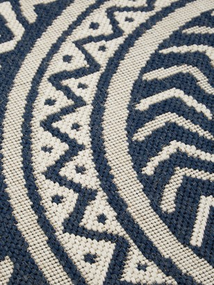County Circles Indoor/Outdoor Rug