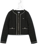 Karl Lagerfeld 'Wild Block' quilted jacket
