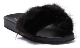Ilse Jacobsen Hornbaek Fry Faux Fur Slide Sandal