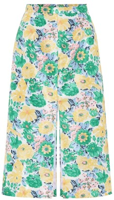 Plan C Floral duchesse skirt