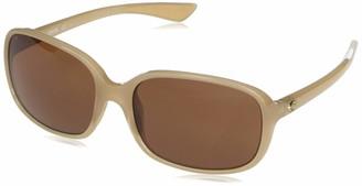 Costa del Mar Men's Riverton Polarized Rectangular Sunglasses