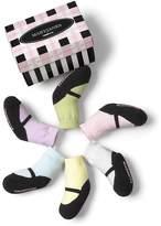 Trumpette Infant Girls' Mary Jane Pastel Socks, 6 Pack