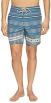 Faherty Classic Stripe Boardshorts