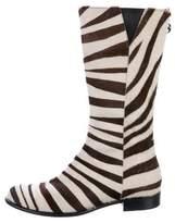 Ralph Lauren Ponyhair Mid-Calf Boots