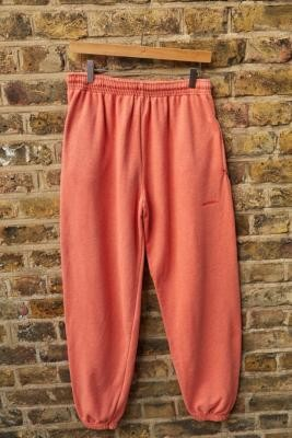 iets frans... Unisex Overdyed Orange Joggers - Orange S at Urban Outfitters