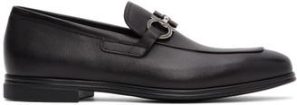 Salvatore Ferragamo Black Scarlet Loafers