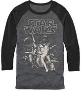 Star Wars Men's Official 'Poster' Premium Performance Graphic Tee