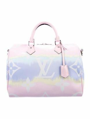 Louis Vuitton 2020 Monogram Escale Speedy Bandouliere 30 pink