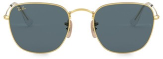 Ray-Ban RB3857 51MM Square Metal Sunglasses