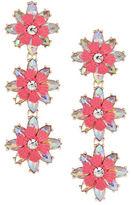 Expression Triple Drop Flower Earrings