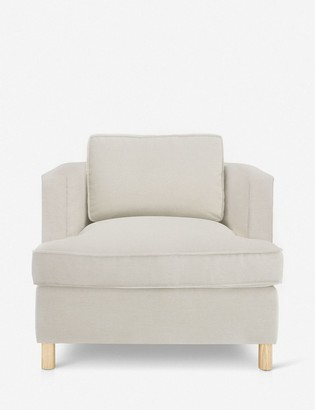 Lulu & Georgia Belmont Accent Chair, Natural By Ginny Macdonald