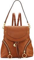 See by Chloe Olga Zip-Side Leather Backpack