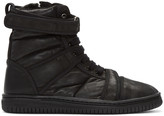 Christian Peau Black Cp Mt Zip High-top Sneakers