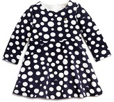 Armani Junior Armani Girls' Polka Dot Long Sleeve Dress - Sizes 12-36 Months