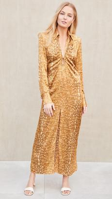 Manning Cartell Australia Golden Atlas Long Sleeve Dress