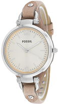 Fossil Georgia Collection ES2830 Women's Stainless Steel Analog Watch