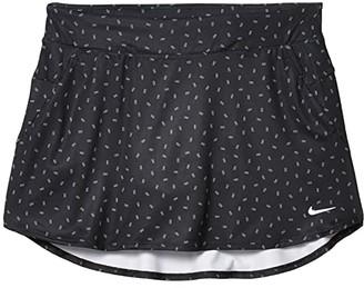 Nike Kids Dri-FITtm Print Skirt (Little Kids/Big Kids) (Black/White) Girl's Skirt
