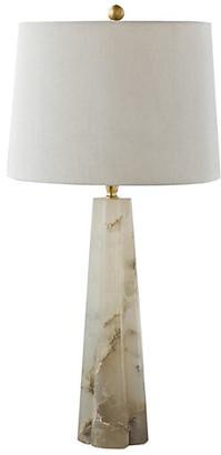 REGINA ANDREW Alabaster Quatrefoil Lamp - Natural