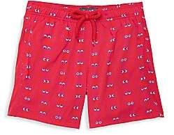 Vilebrequin Little Boy's & Boy's Glow-In-The-Dark Swim Shorts