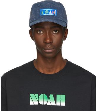 Noah NYC Navy Recycled Canvas Hemingway Cap