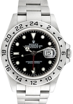 Rolex Vintage Stainless Steel Explorer II Watch, 40mm