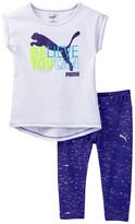 Puma Believe You Can Top & Legging Set (Toddler Girls)