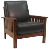 Homelegance Mission Faux Chair Leather