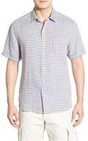 Tommy Bahama 'Chill Zone Breezer' Original Fit Short Sleeve Linen Sport Shirt