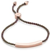 Monica Vinader Women's Linear Friendship Bracelet