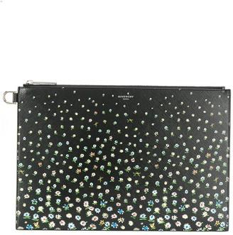 Givenchy Floral Print Clutch Bag