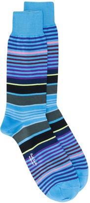 Paul Smith Striped Ankle Socks