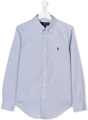 Ralph Lauren Kids TEEN classic oxford shirt