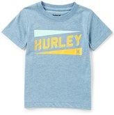 Hurley Little Boys 2T-7 Stadium Lines Short-Sleeve Tee