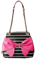 Betsey Johnson Oh Bow You Didn't Satchel