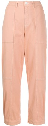 See by Chloe Mid Rise Cropped Jeans