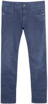 Replay Anbass Dark Blue Slim-leg Jeans