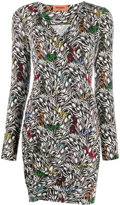 Missoni Floral-Pattern Fitted Dress