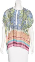 Clover Canyon Printed Wide Body Blouse